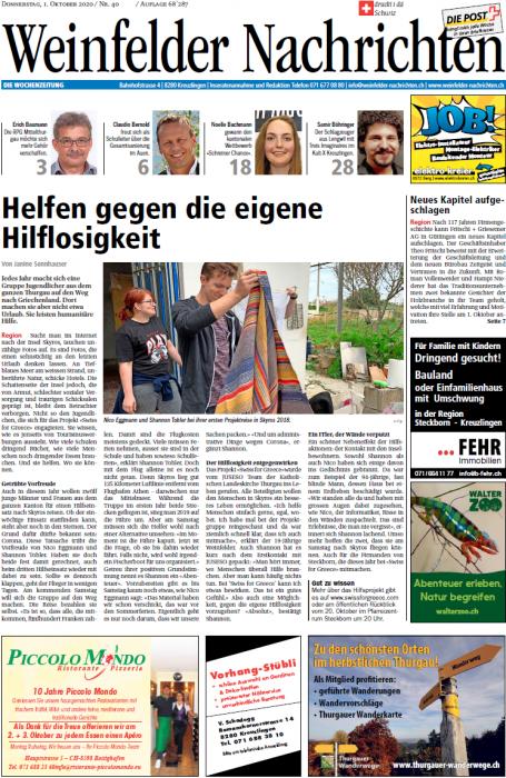Weinfelder-Nachrichten